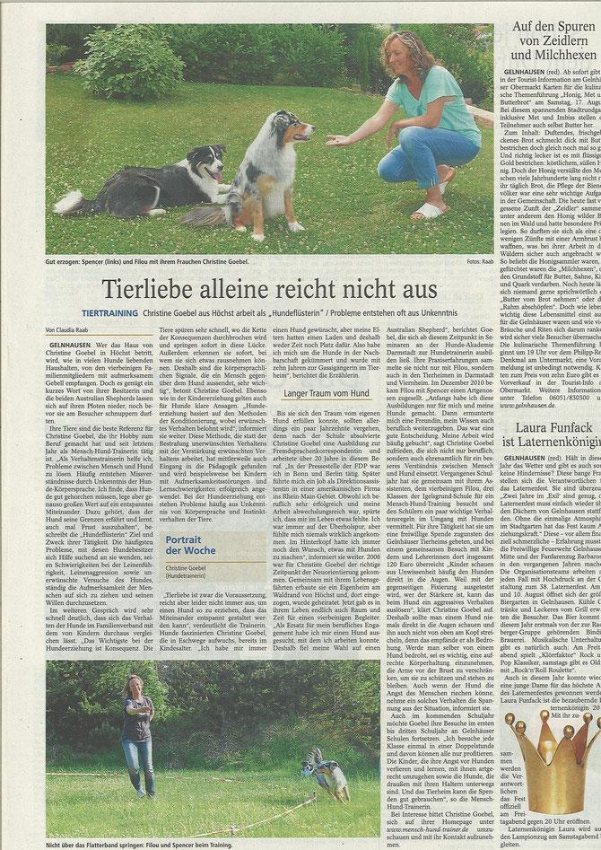 Gelnhäuser Tageblatt 27.07.2013