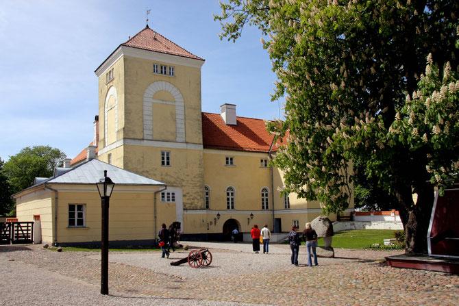 Ventspilio pilyje įsikūręs muziejus / Foto: Kristina Stalnionytė