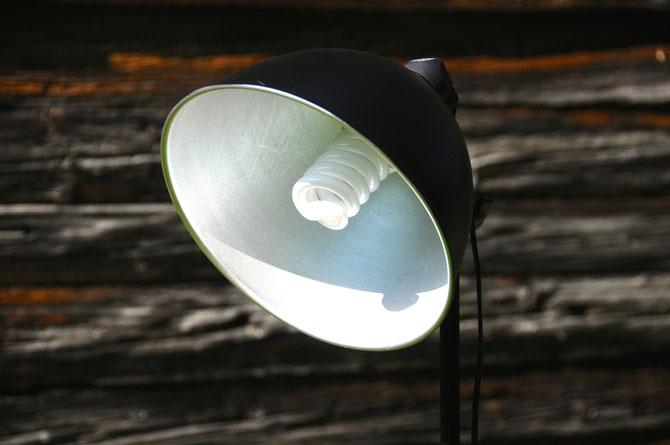 Loft Tripod Studiolampe Aluminium