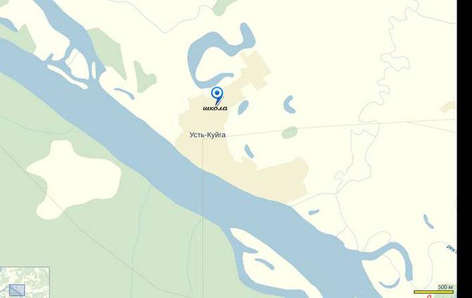 Координаты: 70°00′05″ с. ш. 135°32′59″ в. д. (G) (O) (Я) Показать географическую карту70°00′05″ с. ш. 135°32′59″ в. д.