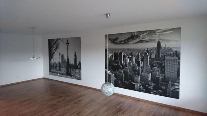 Ein ganz neuer Raum mit Vinyldesign - Böden