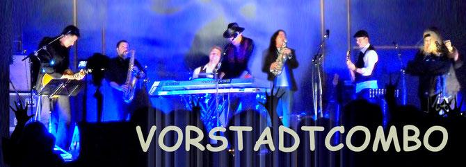 Breitenfurt Okt. 2013 VORSTADTCOMBO  mit Thomas Kramer, Nicos Afentulides, Christian Schmid, Otto Hablit, Andrew Young, Christoph Mares und Nona