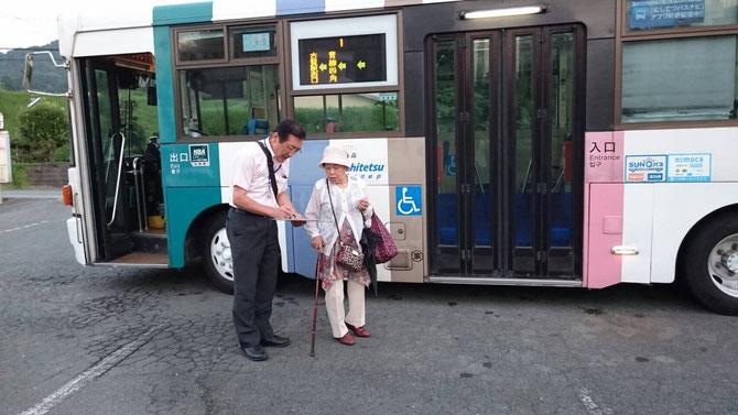 バス利用者の切実な声を聞きました
