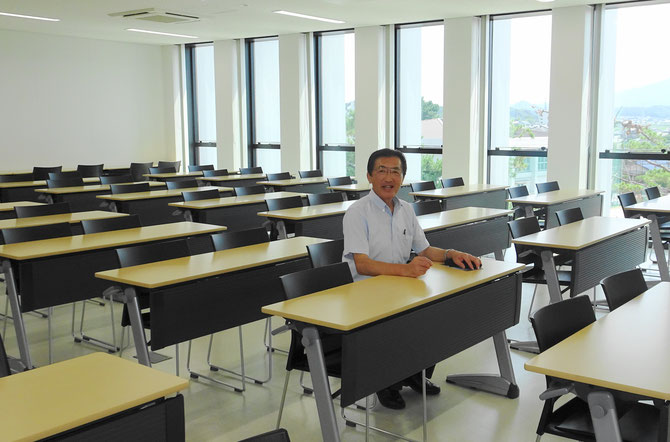 78席ある素晴らしい自習室