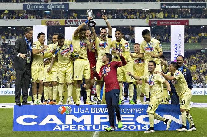 América es el último campeón de México: Apertura 2014.