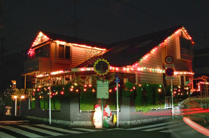 クリスマスイルミネーション 横浜スイートクリスマスカンパニー