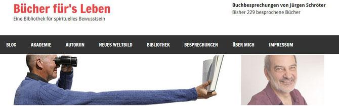 Eine Bibliothek für spirituelles Bewusstsein - Buchbesprechung von Jürgen Schröter