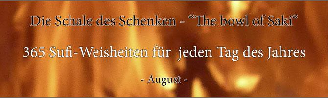 Die Schale des Schenken - 365 Sufi-Weisheiten für jeden Tag des Jahres