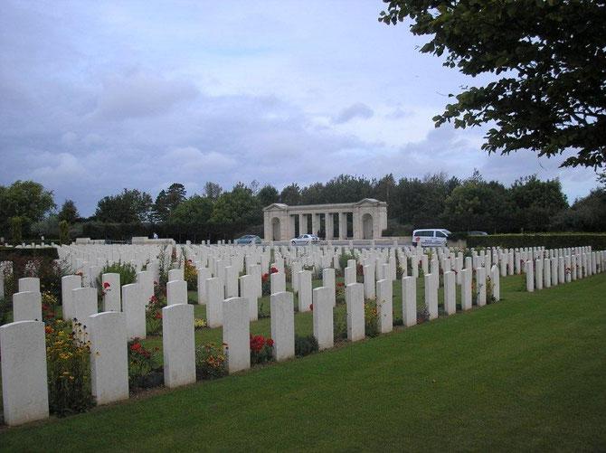 Cimetière Anglais a Bayeux