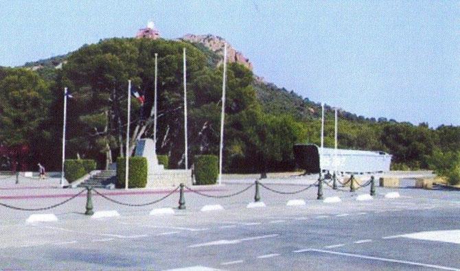 Site de Dramont: Haut lieu du débarquement de Provence