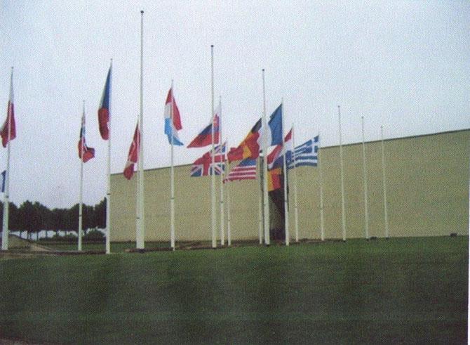 Mémorial de la paix a Caen   à visiter  absolument quand on visite les plages du débarquement