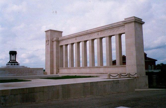 Mémorial Américains Varennes-en Argones