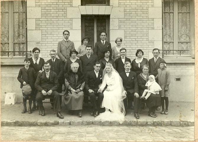 Le mariage de Suzanne Lesourd, en 1932 (don de François Lesourd