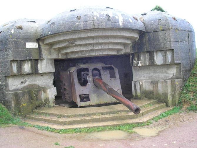 4 canos de la sorte furent installés a Longue-sur-mer