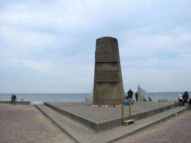 Mémorial  a St-Laurent-sur-Mer Omaha-Beach