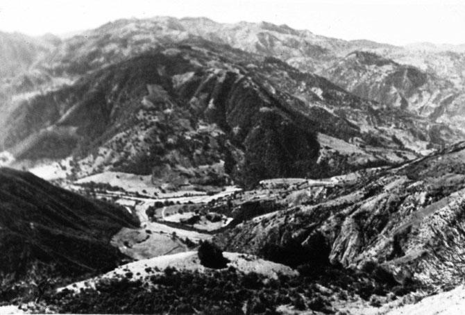 Crapahuter dans ces Montagnes n'était pas une sinécure
