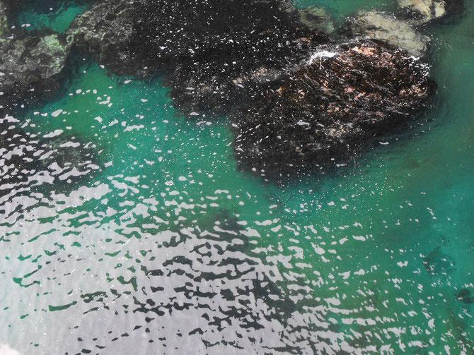 ターコイズグリーンの海・透明