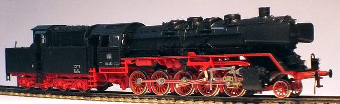 Baureihe 50 Kab auf dem Weg zur fiNescale Lok