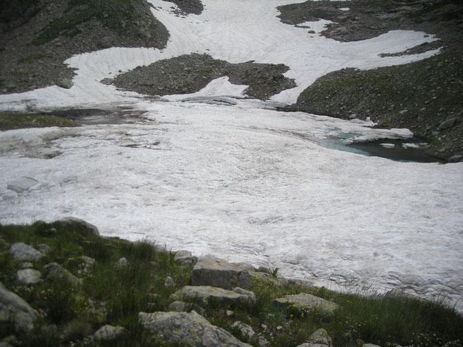 Lac de l'Agnel petit