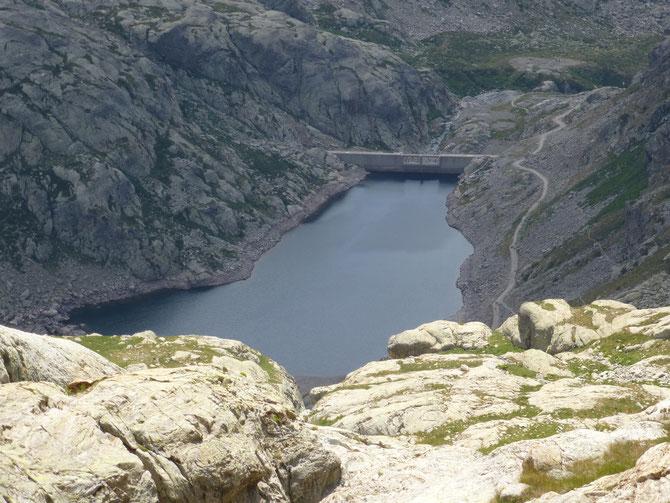 Lac du Barrage de la fous 2