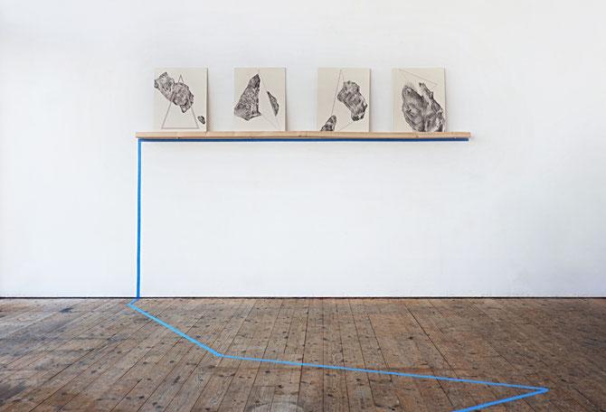 Installation view, Mental Forms 2017, Nordisk Kunstnarsenter, Dale I Sunnfjord (NO)