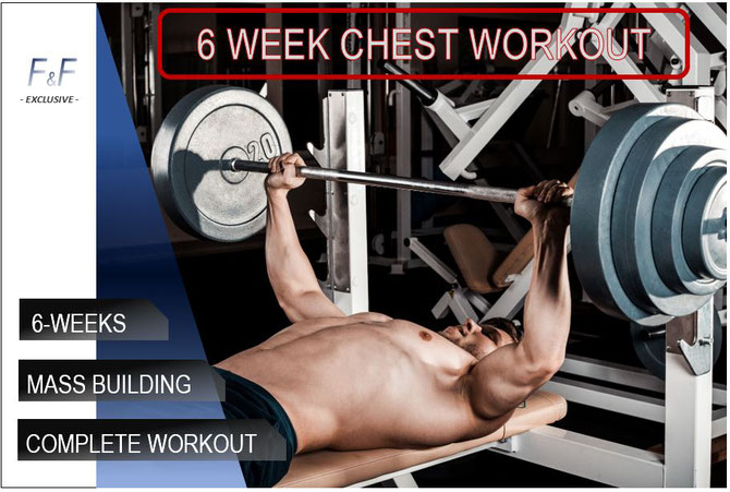 Build a bigger chest: complete 6-week workout plan