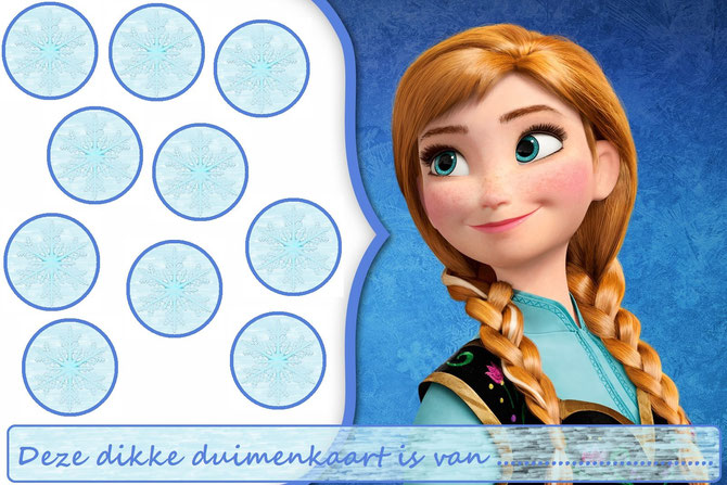 Frozen Website Of Dikkeduimenkaarten