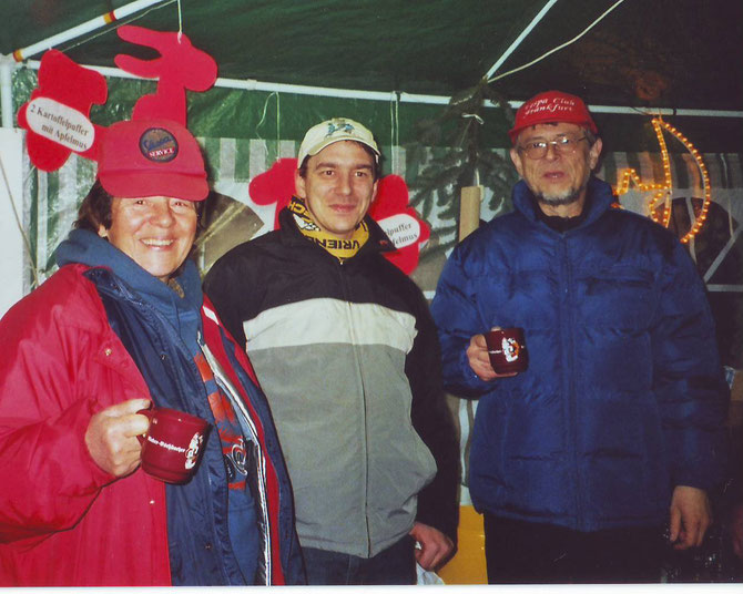Deutsch-belgische Freundschaft: Renate Gräfe, Veit Schiemann und Jochen Haseleu (v.l.)