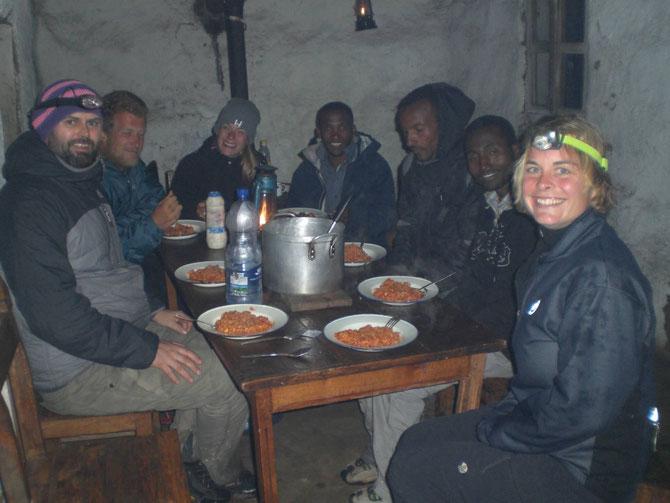 Bale Mountains, Pferdetrekking, Bale Trek, Äthiopien, Reiseführer, Afrika, Essen