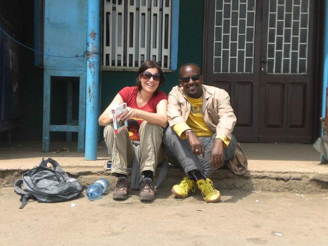 Addis Abeba, Busbahnhof, Äthiopien, Äthiopien