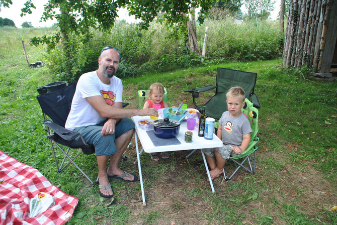 Camp in my Garden, Polen, Poland, Camping, Gajowka