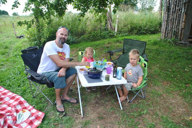 Camp in my Garden, Polen, Poland, Camping, Gajowka