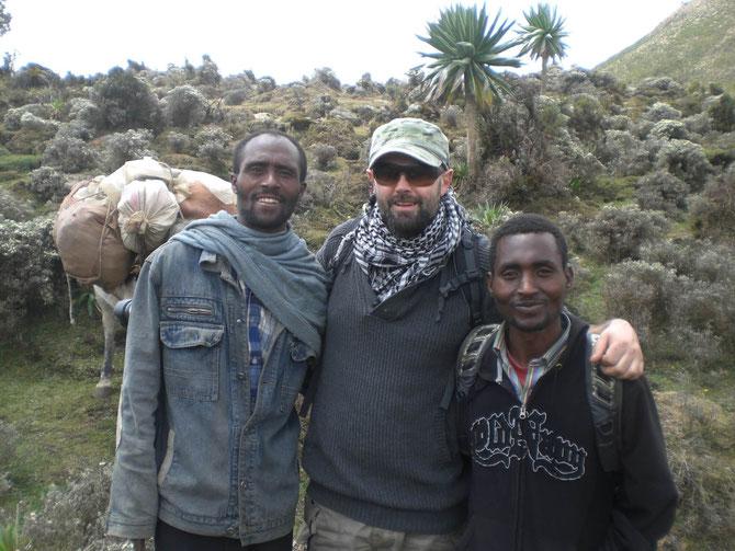 Bale Mountains, Pferdetrekking, Bale Trek, Äthiopien, Reiseführer, Afrika