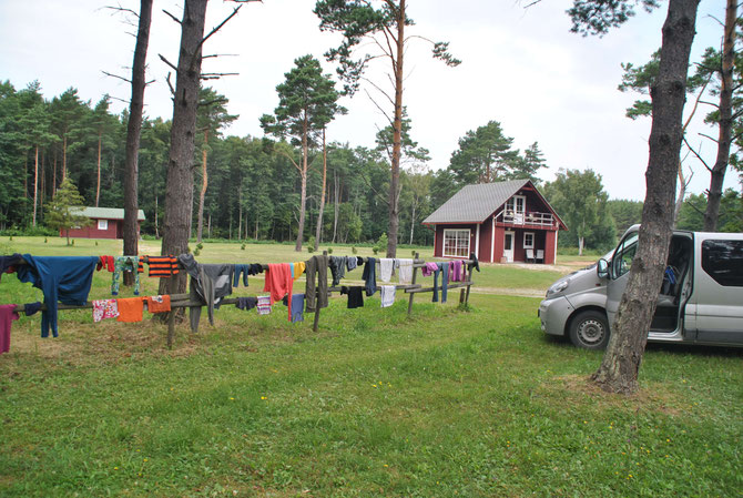 Estland, Camping, Opel Vivaro