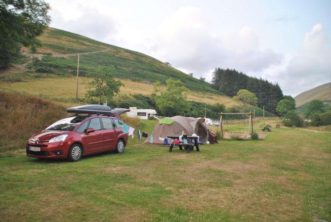 Wales, Cameron Highlands, Camping