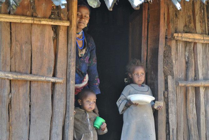 Bale Mountains, Pferdetrekking, Bale Trek, Äthiopien, Reiseführer, Afrika, Familie, Äthiopier