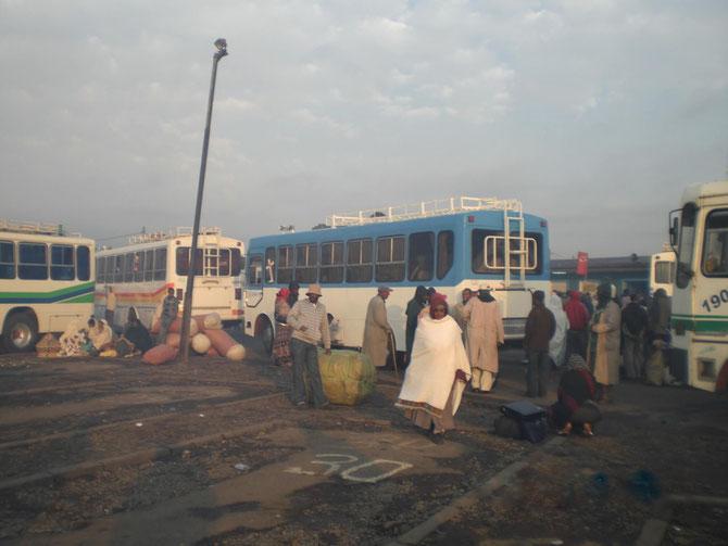 Äthiopien, Busbahnhof, Addis Abeba, Afrika