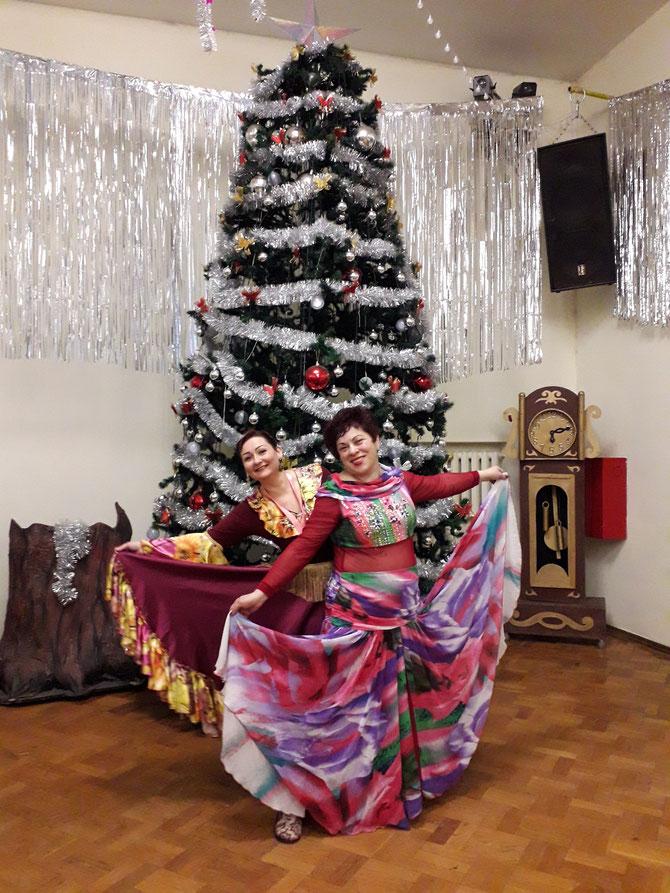 Мария Цветкова и Маргарита Кузнецова.