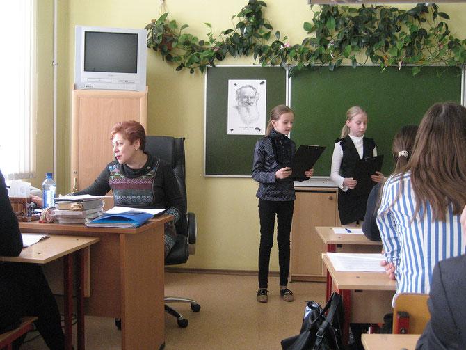 Юдаева Катя- Чемерега Аня