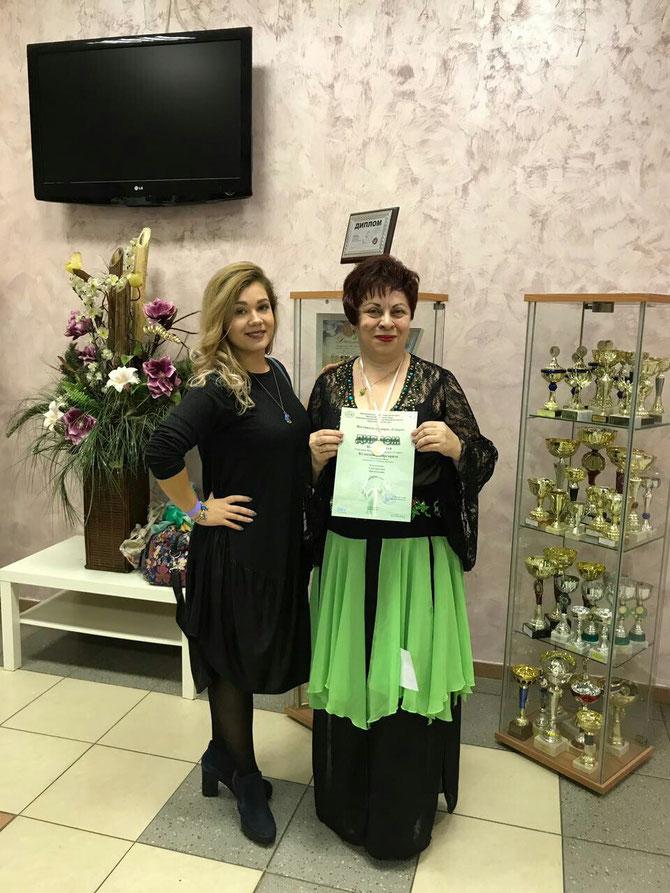 Валерия Копаева и Маргарита Кузнецова.