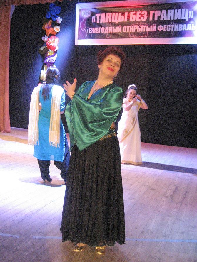 """Фестиваль """"Танцы без границ"""".2013 год"""