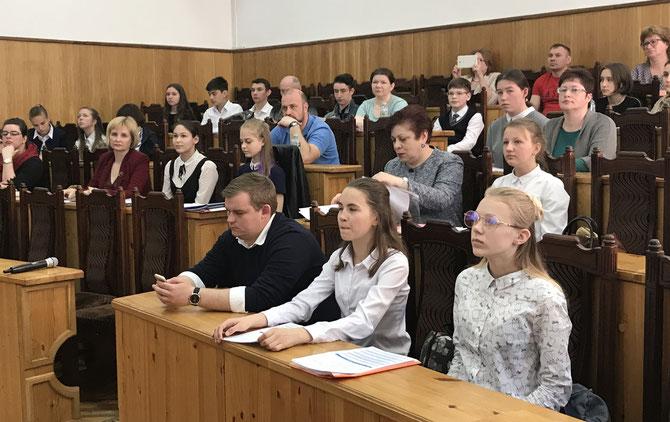 Кузнецова М.С. и Ильина Софья на Гольцовских чтениях.