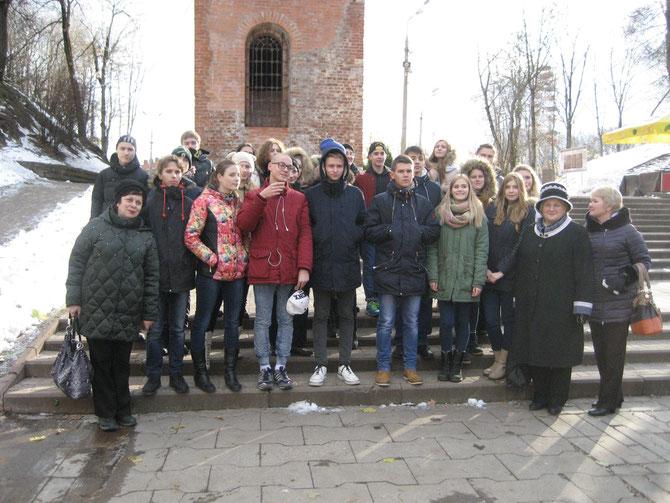 Смоленск. В Центральном городском саду.