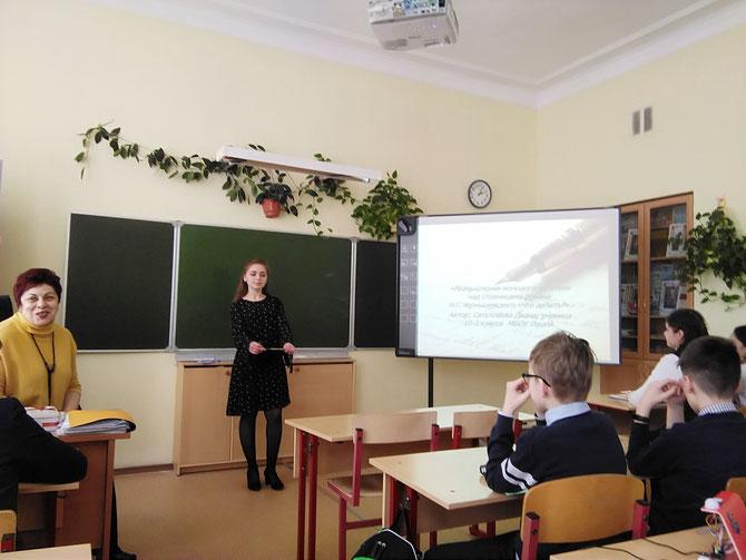 Сатуллаева Диана, 10-3 класс. Победитель в номинации 9-11 классов по литературе.