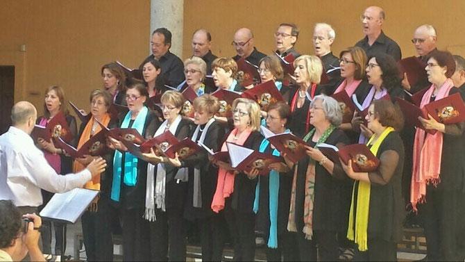 DI EUROPEO DE LA MUSICA , 22 DE JUNIO DE 2014 , PALACIO DE BRACAMONTE (Avila) DIRCTOR, CARLOS SALDAÑA