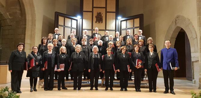 XV CICLO TOMAS LUIS DE VICTORIA, Auditorio San Francisco ( Avila) 10 de noviembre de 2019, Director Santiago Ruíz