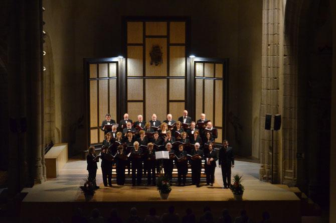 XII CICLO DE TOMAS LUIS DE VICTORIA , 22 de octubre de 2016 . Auditorio de San Francisco ( Avila) Director Santiago Ruiz Torres.