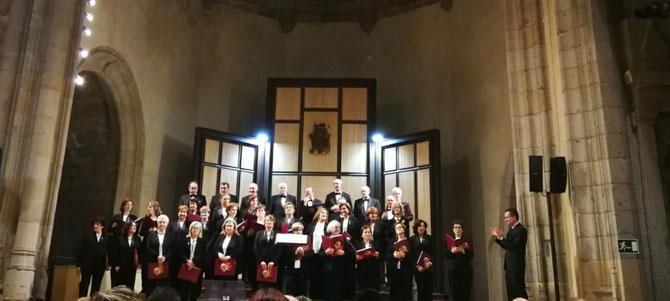 XIII CICLO TOMAS LUIS DE VICTORIA ( Auditorio de San Francisco Avila) 12-10-2017 Director. Santiago Ruíz