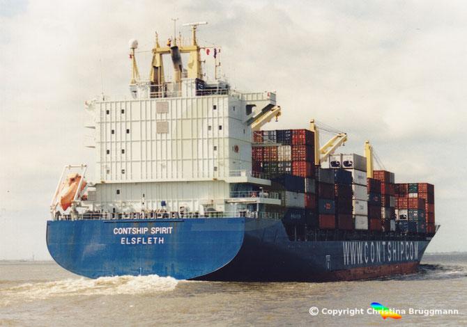 """Containerschiff  """"CONTSHIP SPIRIT"""""""