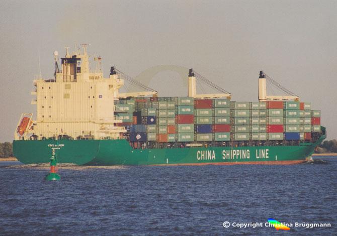 """Containerschiff """"CSCL FUZHOU"""""""